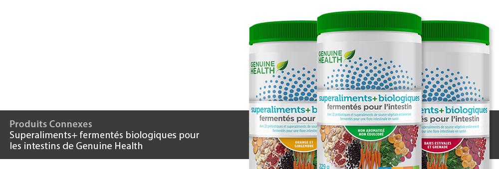 superaliments+ fermentés biologiques pour l'intestin