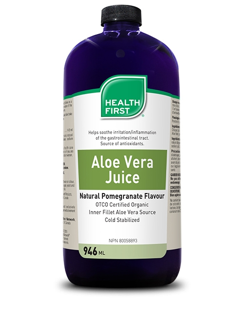 Health First Aloe Vera Juice Pomegranate 946ml