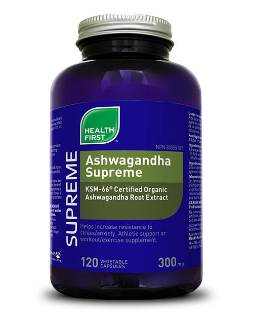 Ashwagandha Supreme - 120 vegetable capsules