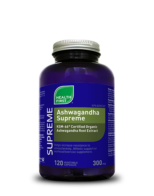 Health First Ashwagandha Supreme 120