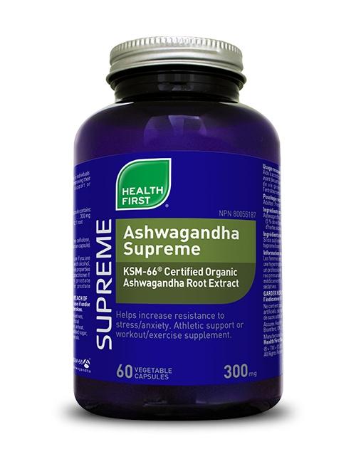 Ashwagandha Supreme - 60 vegetable capsules