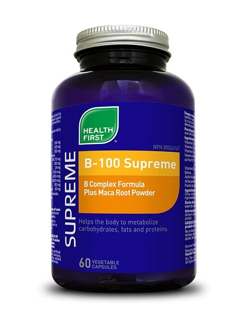B-100 Supreme - 60 vegetable capsules