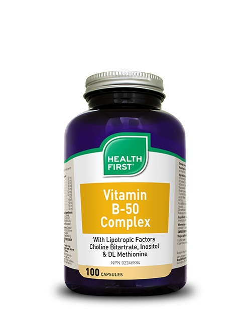 Health First Vitamin B-50 Complex 100