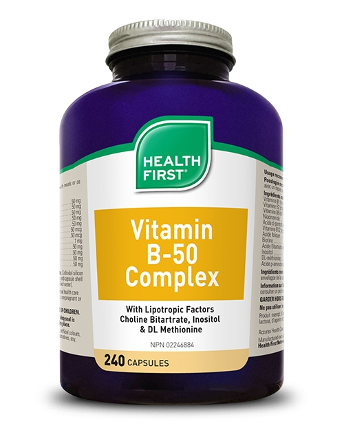 Vitamin B-50 Complex - 240 capsules