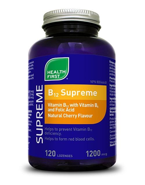 B12 Supreme - 120 lozenges