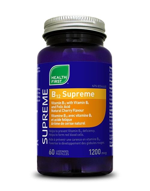 B12 Supreme - 60 lozenges