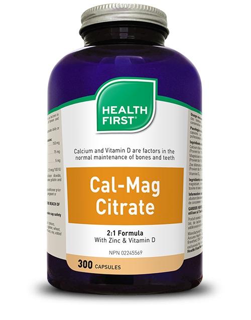Cal-Mag Citrate - 300 capsules