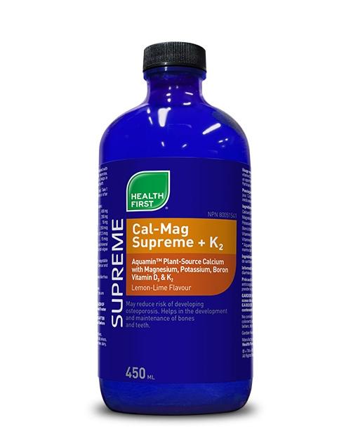 Health First Cal-Mag Supreme +K2 450ml