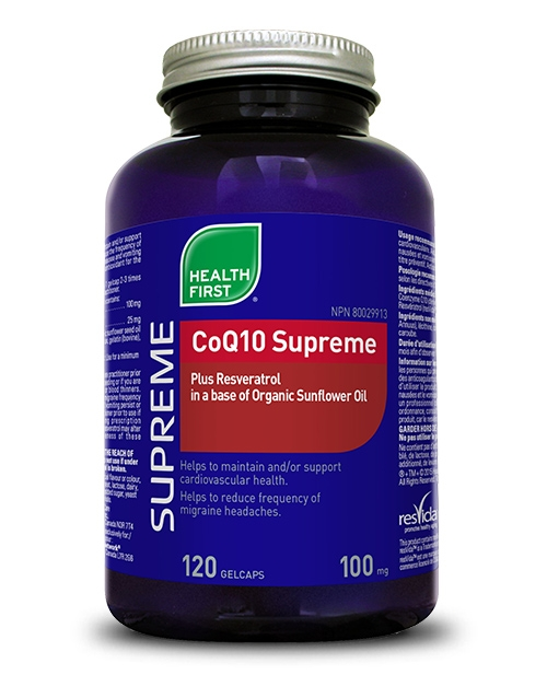 CoQ10 Supreme - 120 gel caps