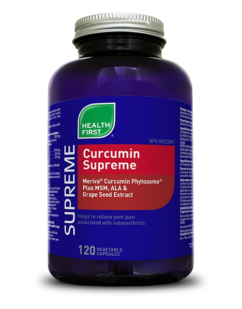 Curcumin Supreme - 120 vegetable capsules
