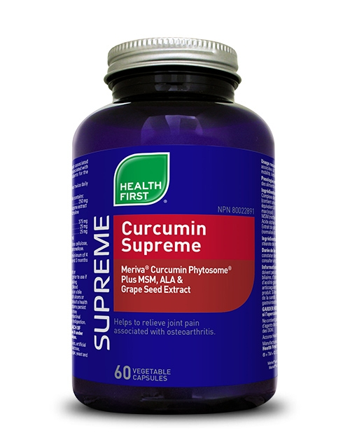 Curcumin Supreme - 60 vegetable capsules