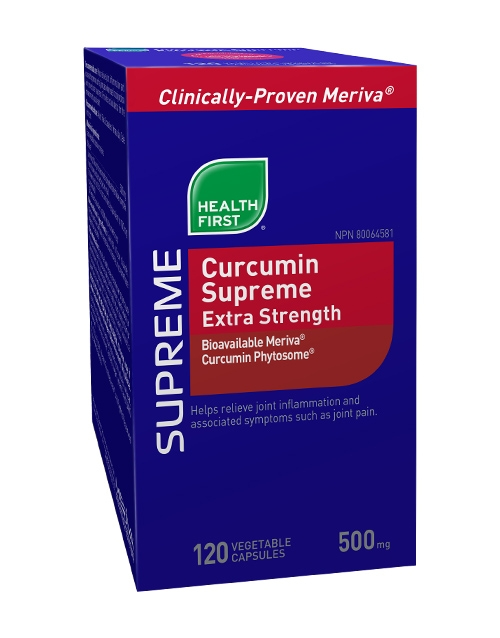Curcumin Supreme Extra Strength - 120 vegetable capsules