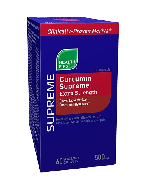 Curcumin Supreme Extra Strength - 60 vegetable capsules