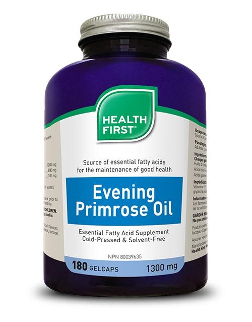 Evening Primrose Oil - 180 gel caps