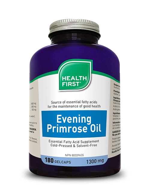 Health First Evening Primrose Oil 180