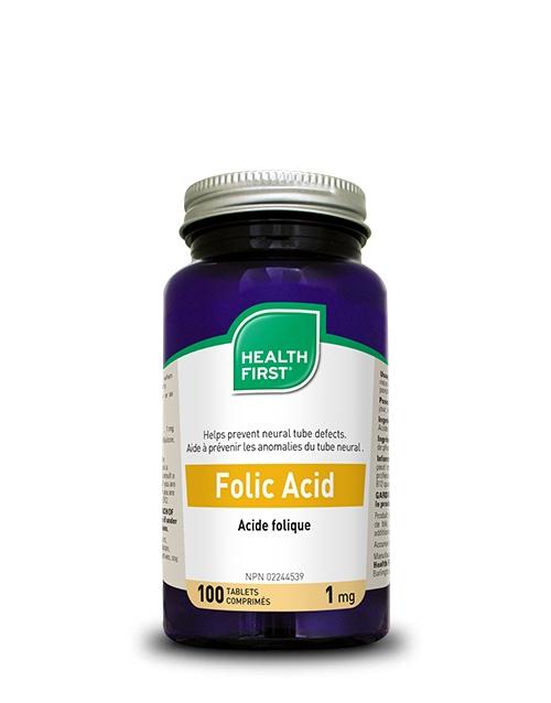 Health First Folic Acid 100