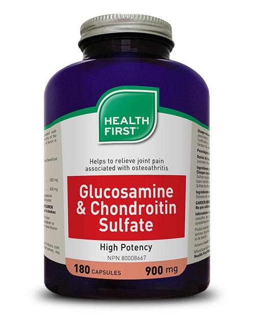 Glucosamine + Chondroitin Sulfate - 180 capsules
