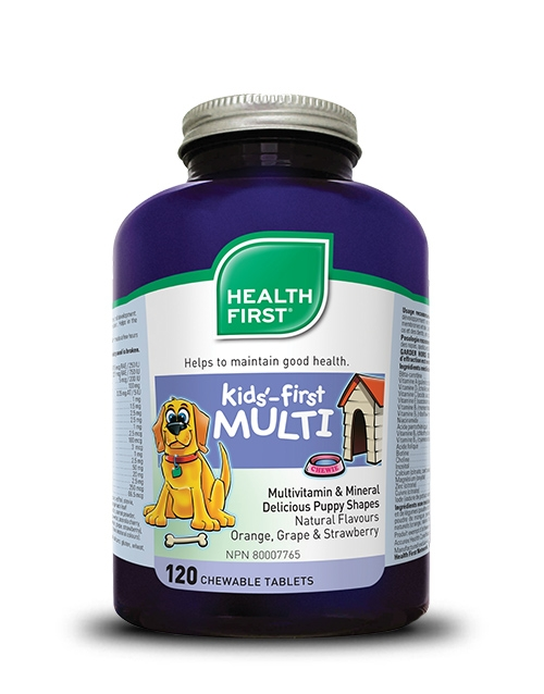 Kids'-first Multivitamin - 120 chewable tablets
