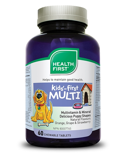 Kids'-first Multivitamin - 60 chewable tablets