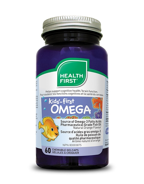 Kids'-first OMEGA - 60 chewable gel caps