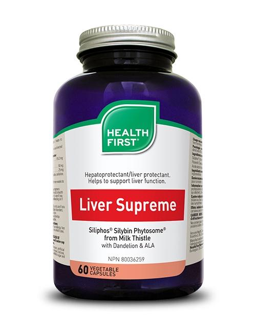 Liver Supreme - 60 vegetable capsules