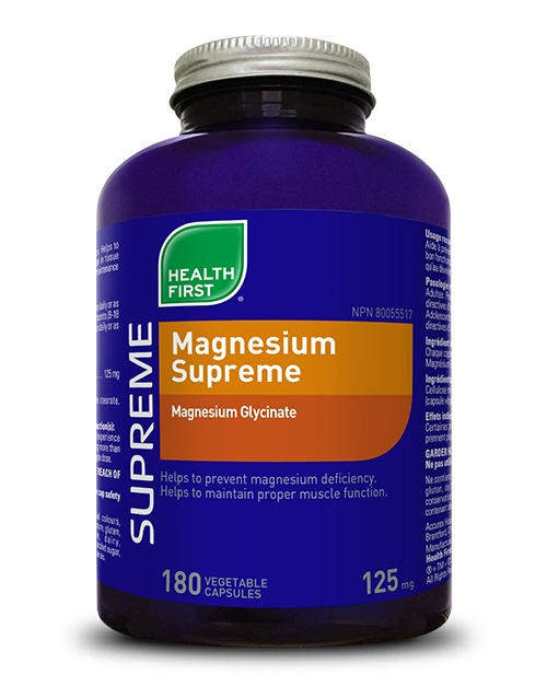 Magnesium Supreme - 120 vegetable capsules