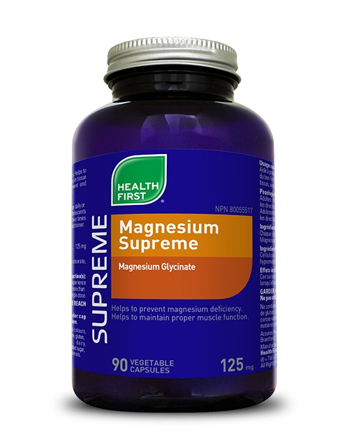 Magnesium Supreme - 90 vegetable capsules