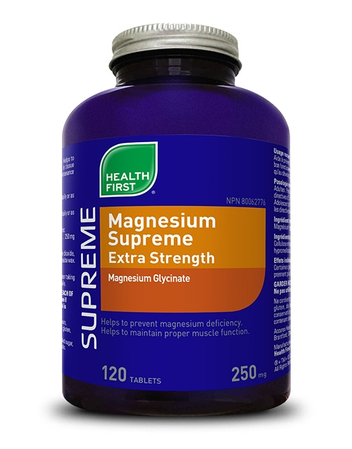 Magnesium Supreme Extra Strength - 120 tablets