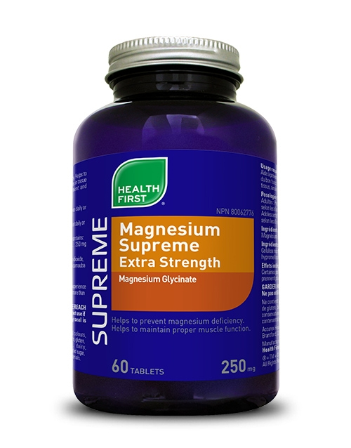 Magnesium Supreme Extra Strength - 60 tablets