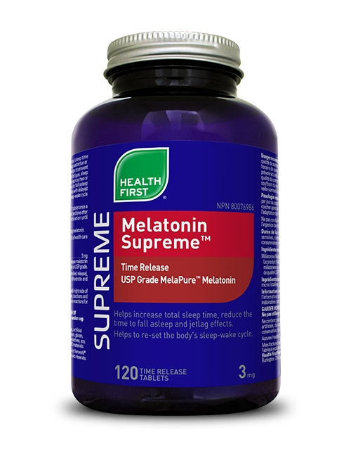 Melatonin Supreme™ - 120 time release tablets