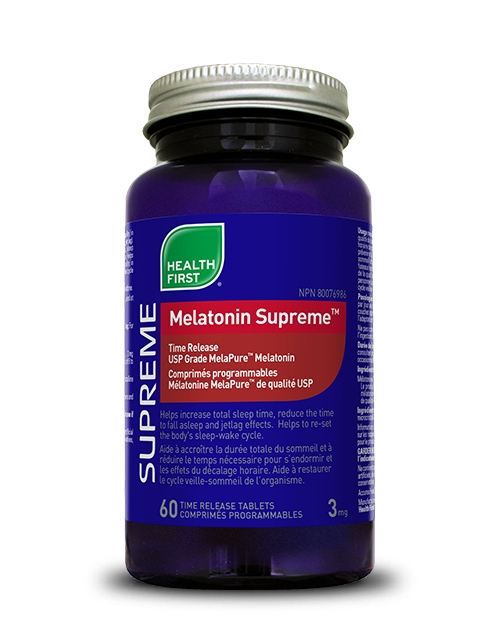 Melatonin Supreme™ - 60 time release tablets