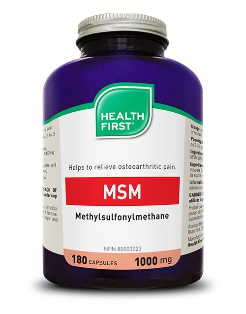 MSM - 180 capsules