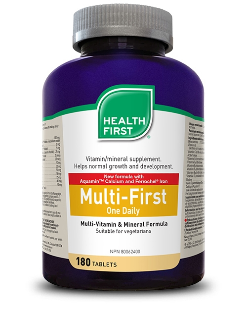 Multi-First One Daily - 180 tablets
