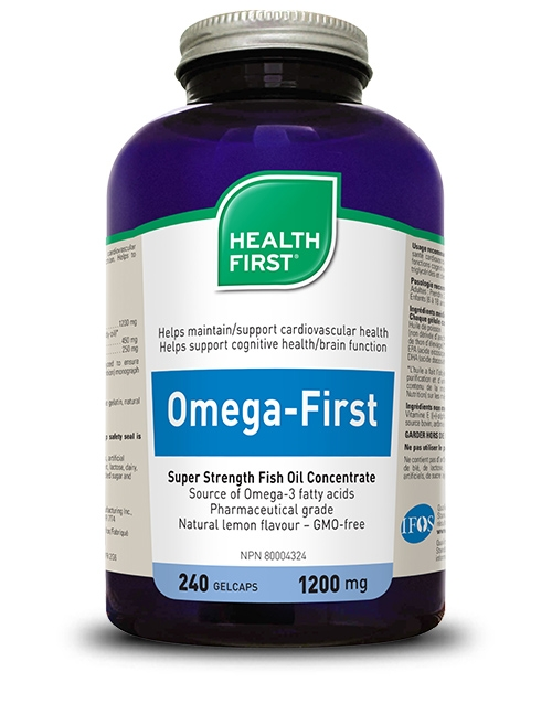 Omega-First - 240 gel caps