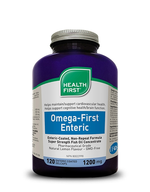 Health First Omega-First Enteric 120