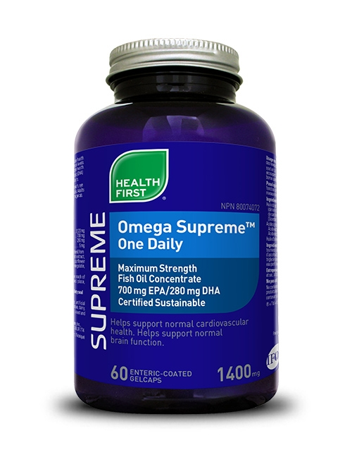 Omega Supreme™ One Daily - 60 enteric coated gelcaps