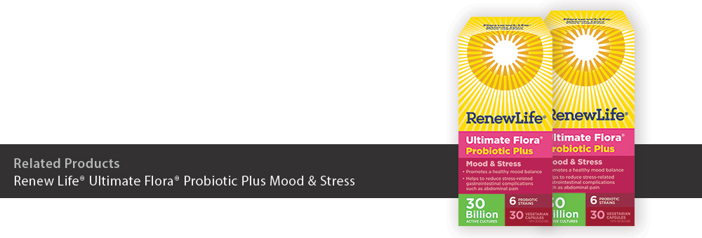 Renew Life® Ultimate Flora® Probiotic Plus Mood & Stress