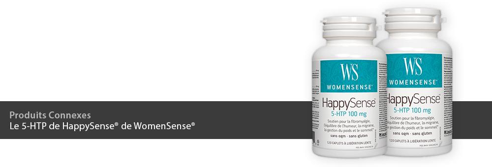 Le 5-HTP de HappySense de WomenSense®