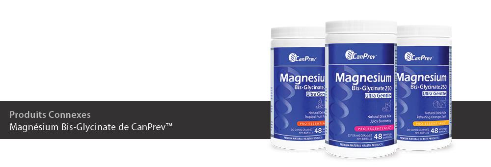 Magnésium Bis-Glycinate de CanPrev™