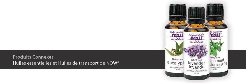 Huiles essentielles et Huiles de transport de NOW