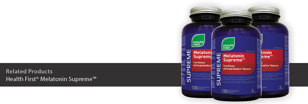 Health First Melatonin Supreme