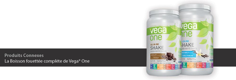 La Boisson fouettée complète de Vega One