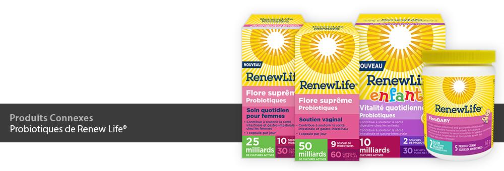 Probiotiques de Renew Life
