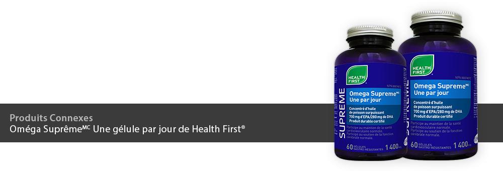 Oméga Suprême Une gélule par jour de Health First