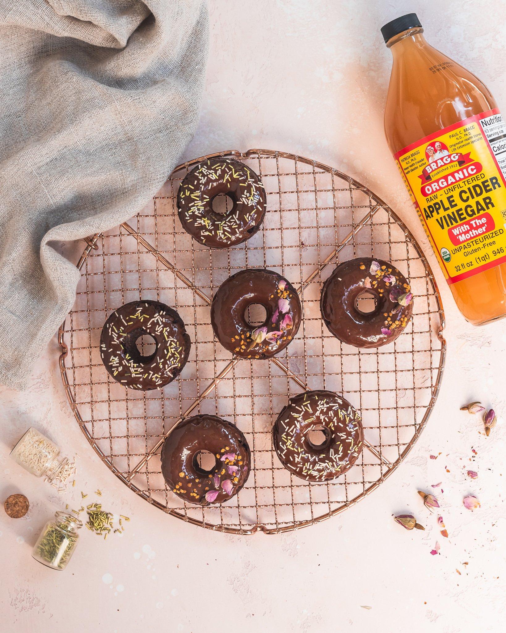 Bragg Chocolate Zucchini Donuts