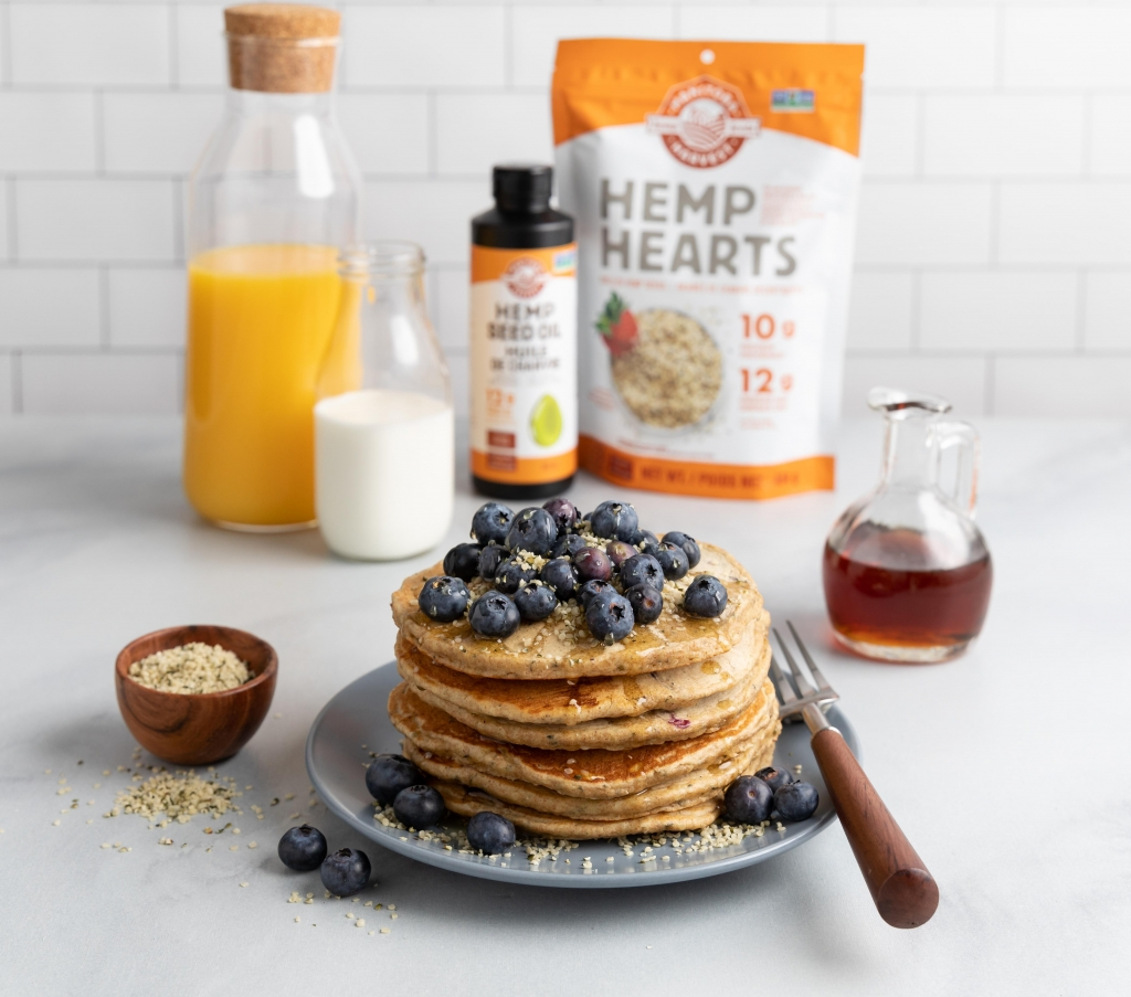 Manitoba Harvest Whole Grain Hemp Pancakes