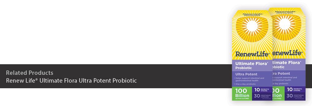 Renew Life Ultimate Flora Ultra Potent Probiotic