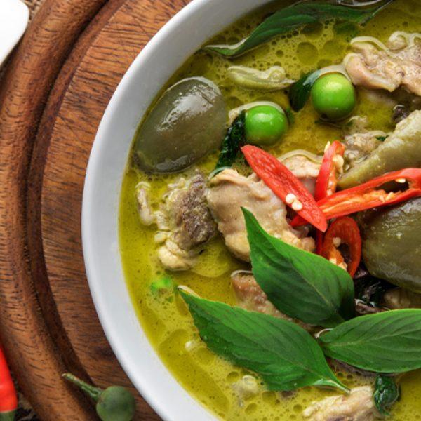 Easy Thai Green Coconut Curry Recipe