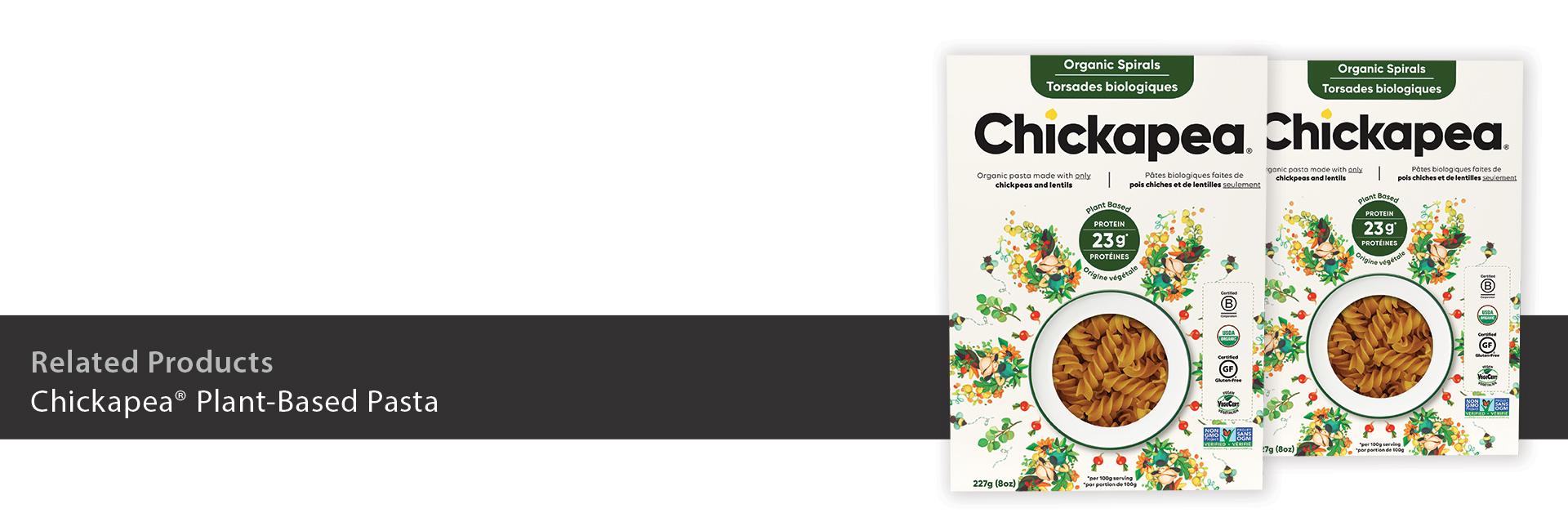 Chickapea Plant-Based Pasta